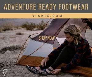 Viakix adventure ready outdoor sandals