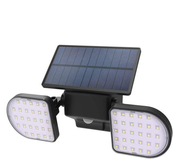 Lampa solara Avantree L601, senzor miscare, reglabile, utilizare in aer liber