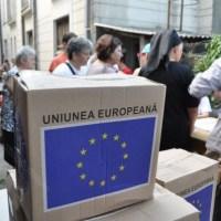 Peste 1000 de pachete cu ajutoare alimentare de la UE, distribuite la Petroșani