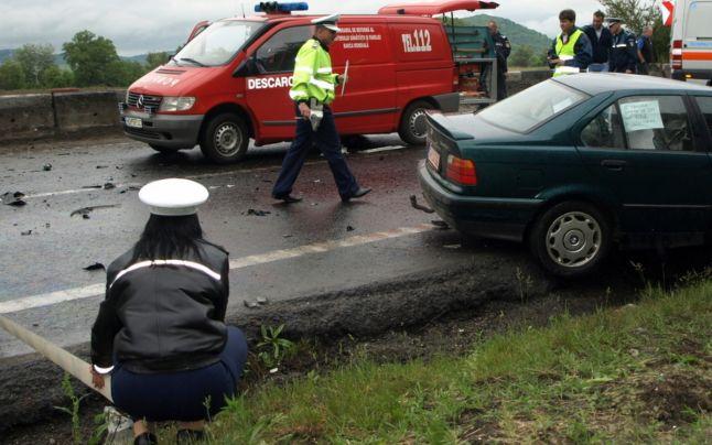 Accident rutier pe raza localității Călan