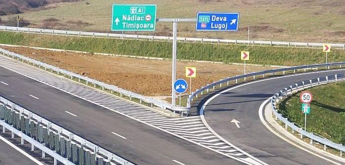 Lotul 2 al autostrăzii Lugoj-Deva, la un pas de a fi deschis circulației