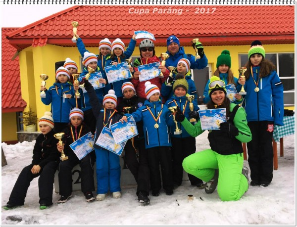 Cupa Parâng și-a premiat câștigătorii