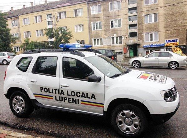 POLITIA LOCALA LUPENI FACE ANGAJARI!