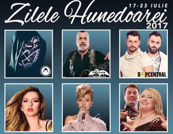 """O săptămână de distracție la """"Zilele Hunedoarei"""". Vedeți aici programul complet al evenimentelor."""