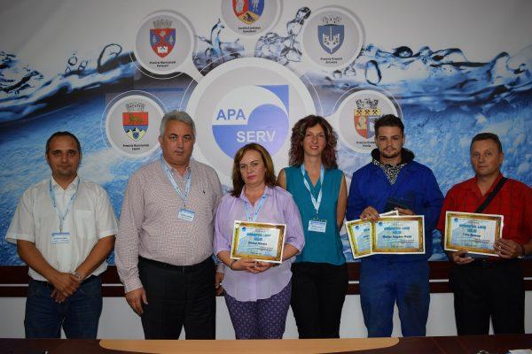 Angajații de top ai lunii iulie la Apa Serv Valea Jiului