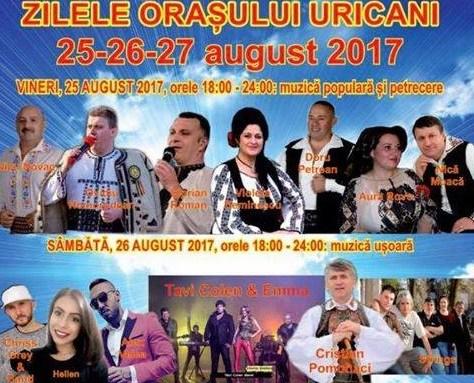 Cine cântă în locul lui Cristian Pomohaci la Zilele orașului Uricani?