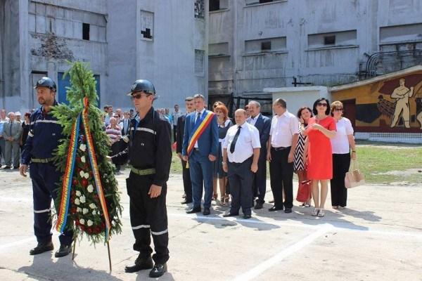 Ceremoniile de Ziua Minerului la Lupeni