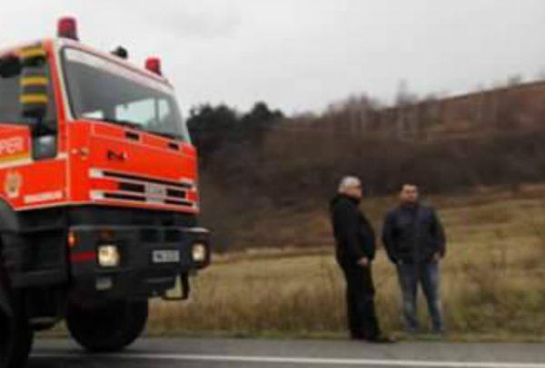 Accident în care a fost implicat un autocar cu 20 de călători
