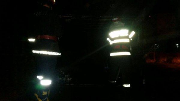 Utilaje și echipamente distruse de un incendiu