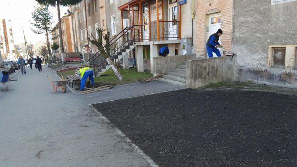La Lupeni continuă campania lucrărilor de primăvară