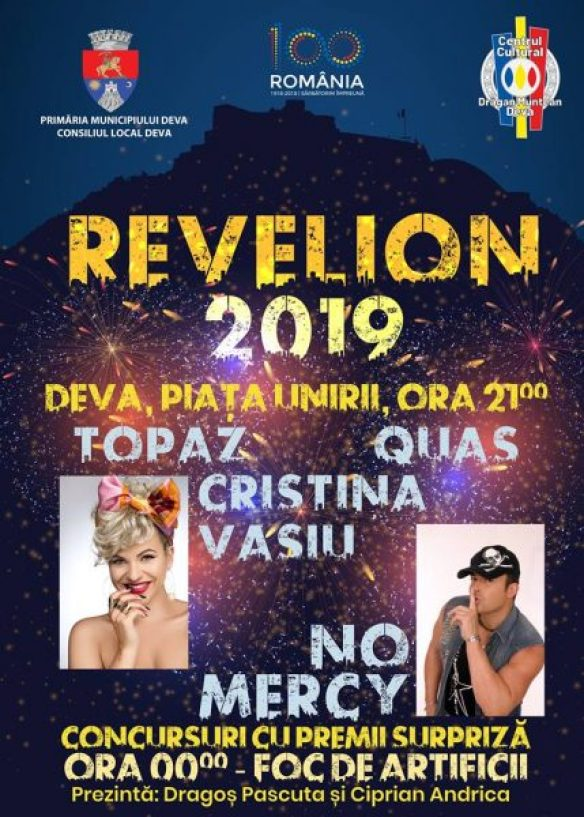 Image result for revelion deva 2019 primaria deva
