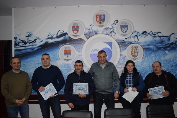 Cei mai buni salariați ai Apa Sev Valea Jiului din luna decembrie 2018