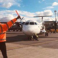 În luna februarie, traficul aerian internațional de pasageri s-a diminuat cu 89%, raportat la aceeași lună a anului 2020