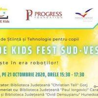 """Biblioteca județeană """"Ovid Densușianu"""", partener la Târgul de Ştiinţă şi Tehnologie pentru copii"""