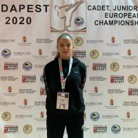 Sportiva CSM Jiul Petroșani, Miruna Mălăuță – locul 3 mondial la karate kumite WKF U21