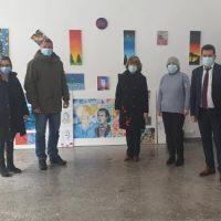 """Omagiu """"Eminescu"""" la Galeria de artă din Lupeni"""