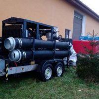 O pompă mobilă de mare capacitate a intrat în dotarea Apa Serv Valea Jiului