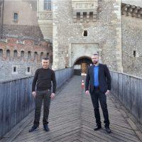 Ambasadorul Israelului în vizită la Castelul Corvinilor de la Hunedoara