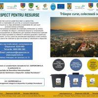 Campanie de conștientizare a SMID Hunedoara privind colectarea selectivă a deșeurilor