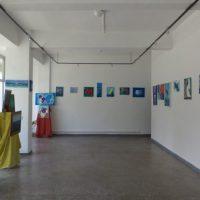 """""""Culorile mele"""", o expoziție de artă plastică semnată Anamaria Vereș, la galeria de artă din Lupeni"""