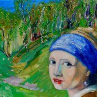 """Cum a ajuns """"Fata cu cercel de perlă"""" a lui Vermeer în zăvoiul lui Petru Birău de la Petrila"""