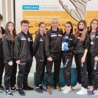 """Rezultate bune pentru """"Panterele negre"""" din Petroșani la Campionatul Național de Taekwon-do de la Timișoara"""
