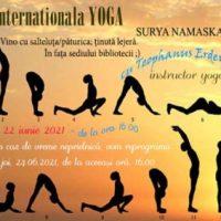 Tehnici Yoga deslușite la Petrila, cu prilejul Zilei Internaționale Yoga