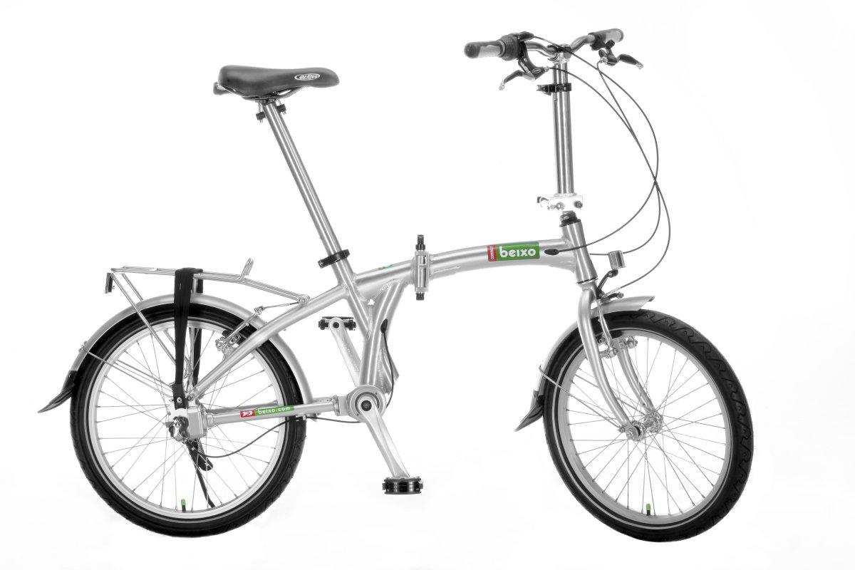 Beixo Compact 7 La Bicicleta Plegable Sin Cadena Con Cardan