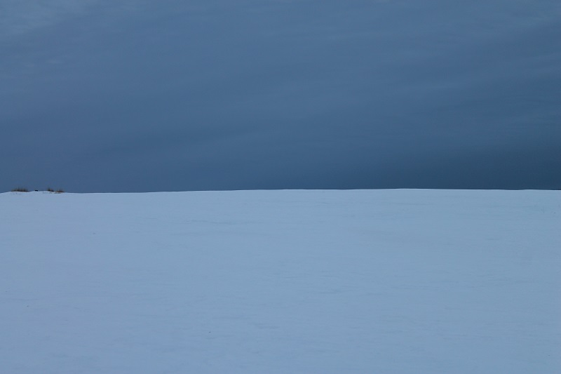 colour, winter blues, landscape, snow, Avard Woolaver