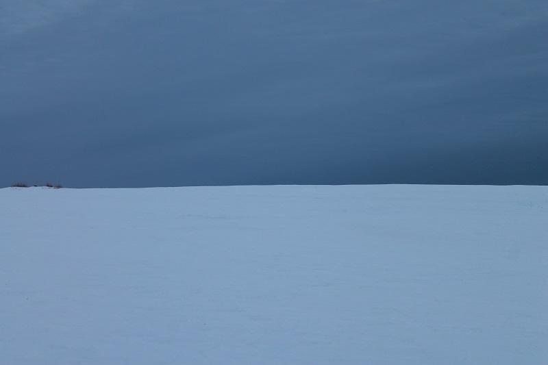 colour, winter blues, landscape, snow, Avard Woolaver