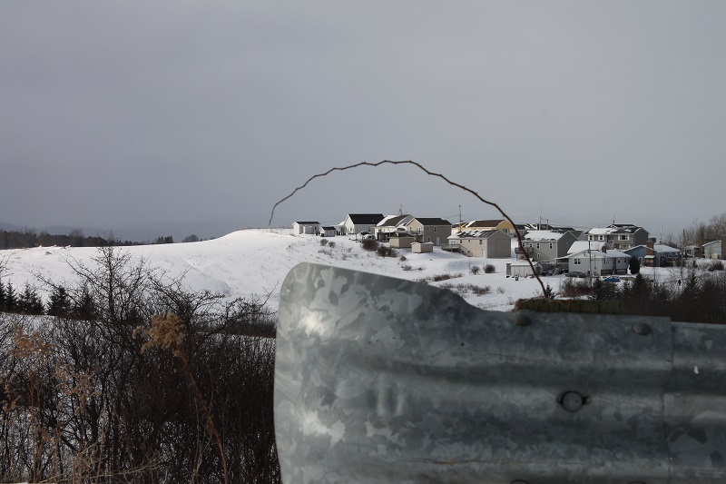 foreground, composition, Nova Scotia, New Topographics,