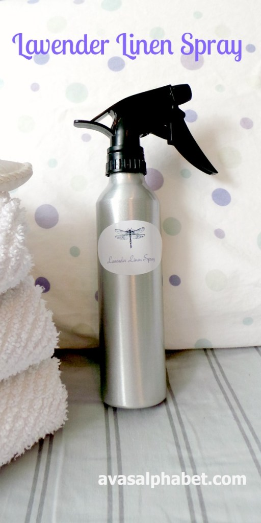 Make Your Own Lavender Linen Spray