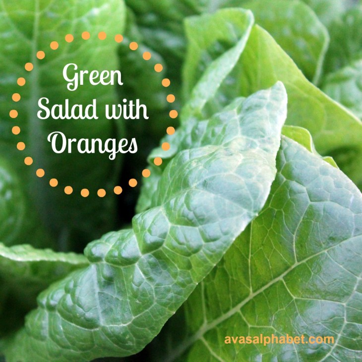 Green Salad with Oranges