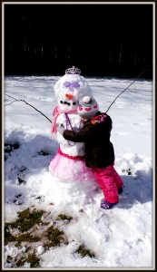 Snow Princess hug