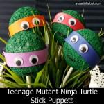 TMNT Stick Puppets