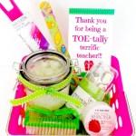 TOE-tally terrific teacher gifts