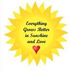 Sunshine and Love Printable Wall Art