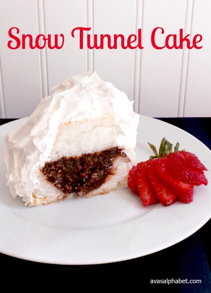 Snow Tunnel Cake