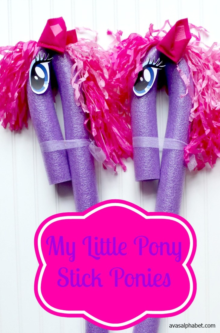 My Little Pony Stick Ponies