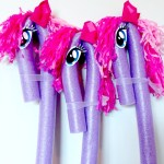 My Little Pony Inspired Stick Ponies