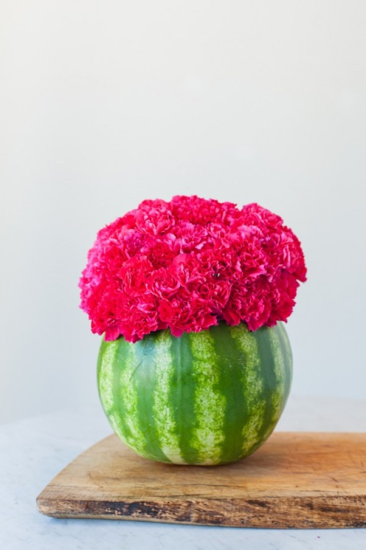DIY Watermelon Centerpiece