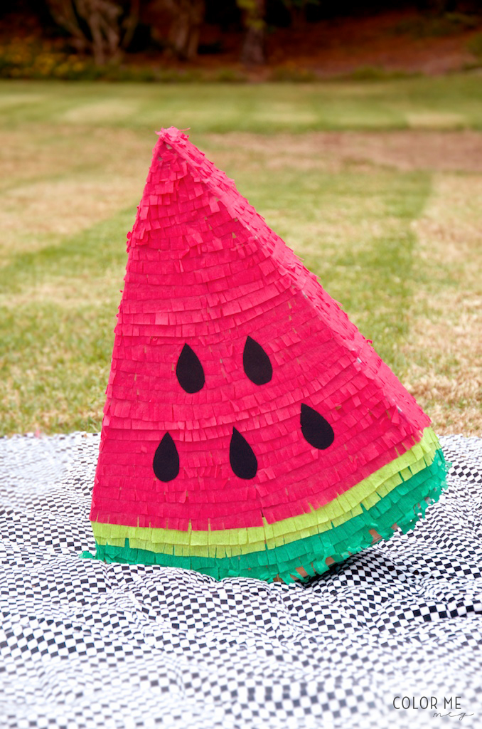 DIY Watermelon Piñata