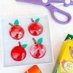 DIY Apple Magnets for Teacher Gifts