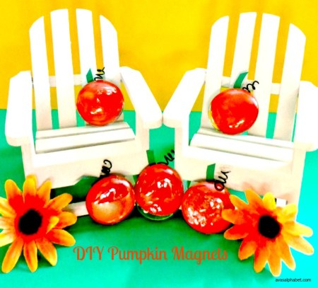DIY Pumpkin Magnets