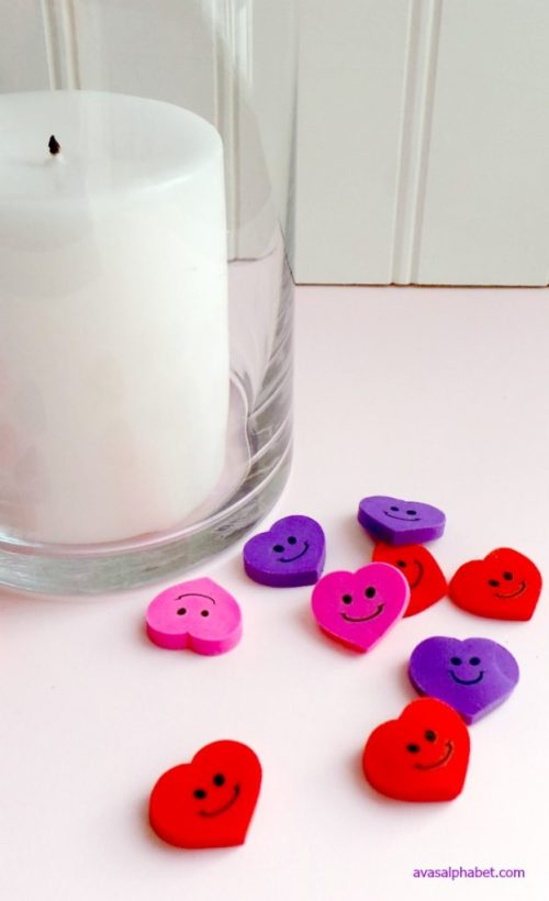 Happy Heart Candle Holder