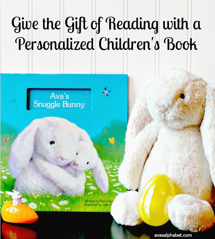 Give the Gift of Reading with Personalized Children's Books - Ava's Alphabet