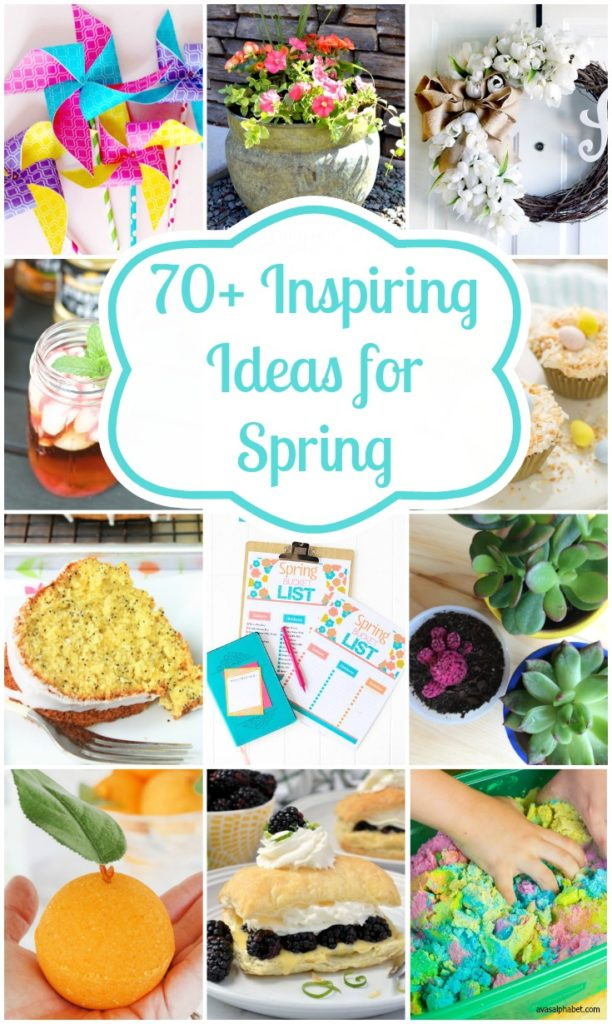 70+ Inspiring Spring Ideas from Ava's Alphabet