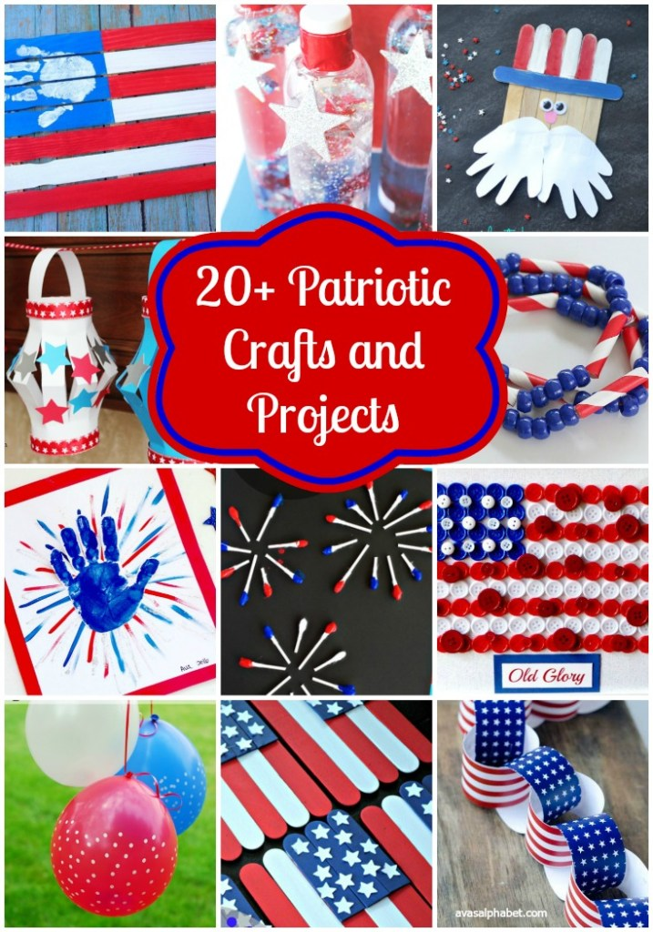 20+ Patriotic Crafts and Projects from Ava's Alphabet