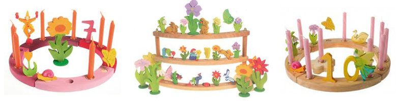 Waldorf Birthday Rings Grimm S Birthday Rings Ava S Appletree Natural Toys