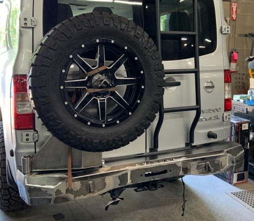 NV rear winch bumper from Avatar